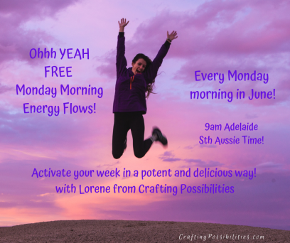 Ohhh YEAH Monday Morning Energy Flows!