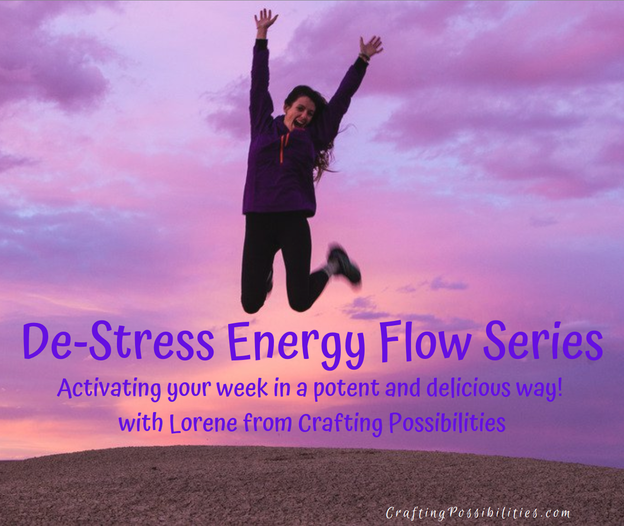 Destress Energy Flow Series with Lorene